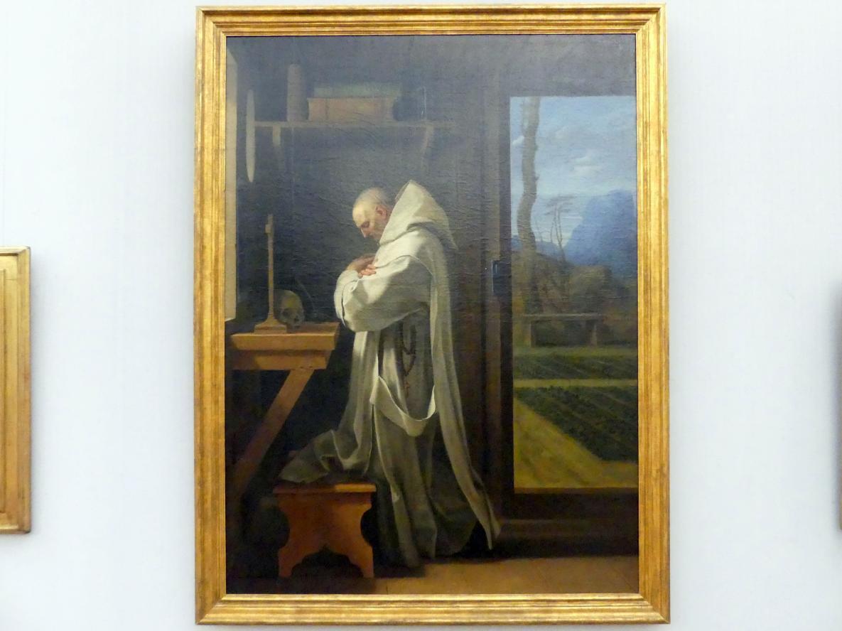 Eustache Le Sueur: Der hl. Bruno im Gebet, Undatiert