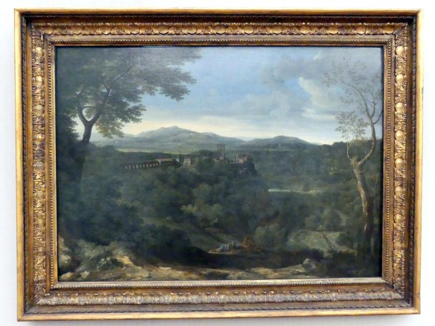 Gaspard Poussin (Gaspard Dughet): Landschaft mit Aquädukt, Um 1660