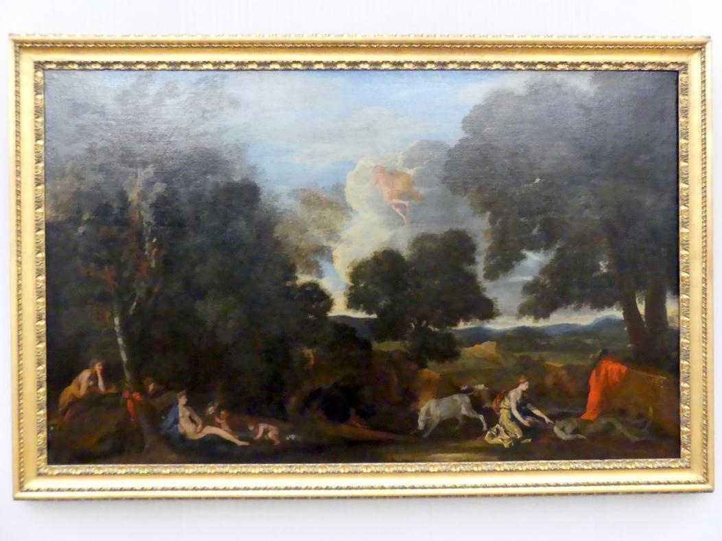 Nicolas Poussin: Landschaft mit Juno und dem getöteten Argus, um 1635 - 1636