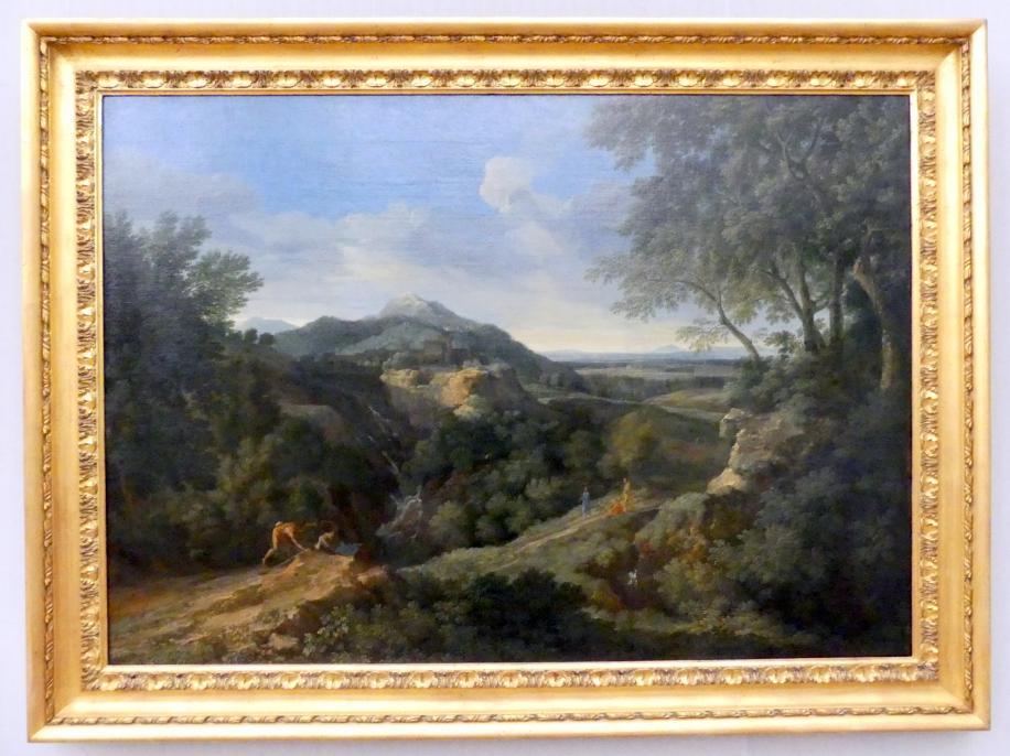 Gaspard Poussin (Gaspard Dughet): Römische Gebirgslandschaft, um 1658 - 1659