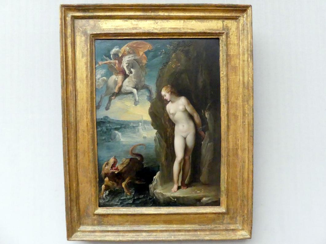Giuseppe Cesari (Il Cavaliere d'Arpino): Perseus befreit Andromeda, Um 1594 - 1598