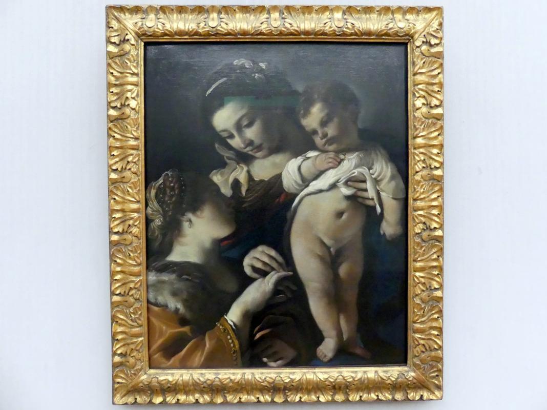 Giovanni Francesco Barbieri (Il Guercino): Die Verlobung der hl Katharina von Alexandrien, 1620