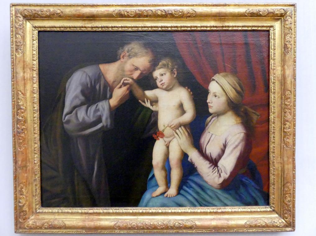 Giovanni Battista Salvi (Sassoferrato): Die Heilige Familie, Undatiert