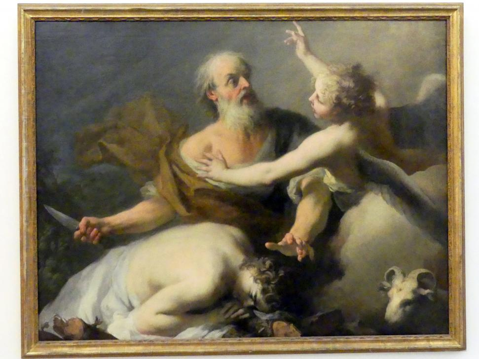 Jacopo Amigoni: Das Abrahamsopfer, um 1740 - 1745