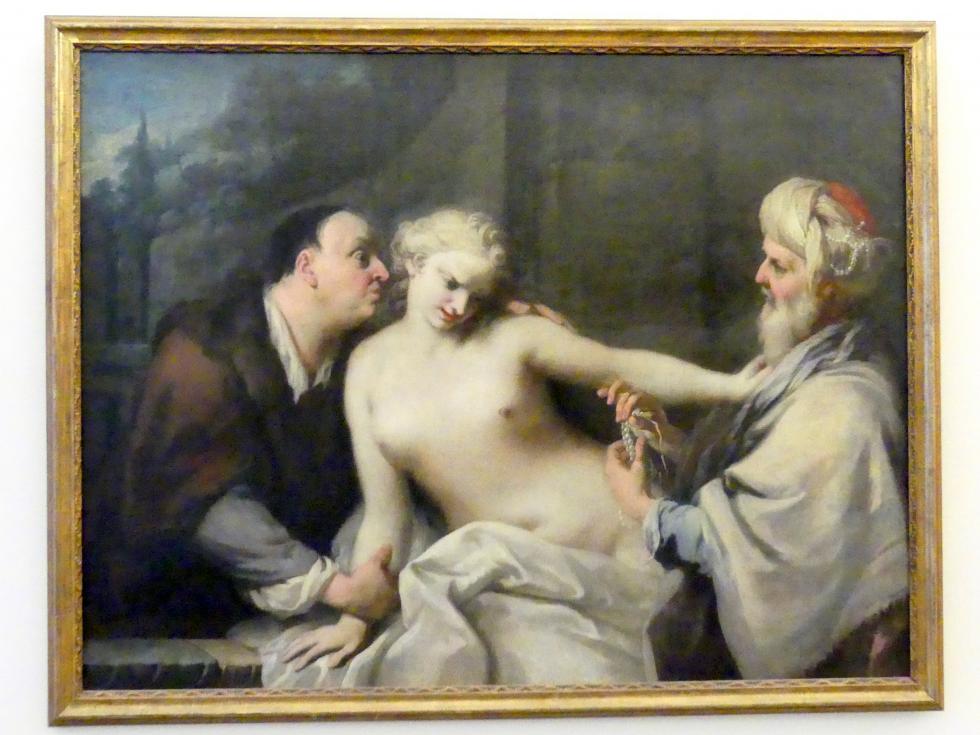 Jacopo Amigoni: Susanna im Bade und die beiden Alten, um 1740 - 1745