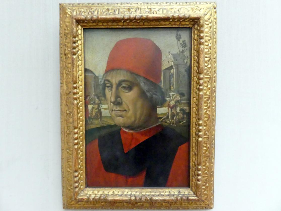 Luca Signorelli: Bildnis eines älteren Mannes, um 1492