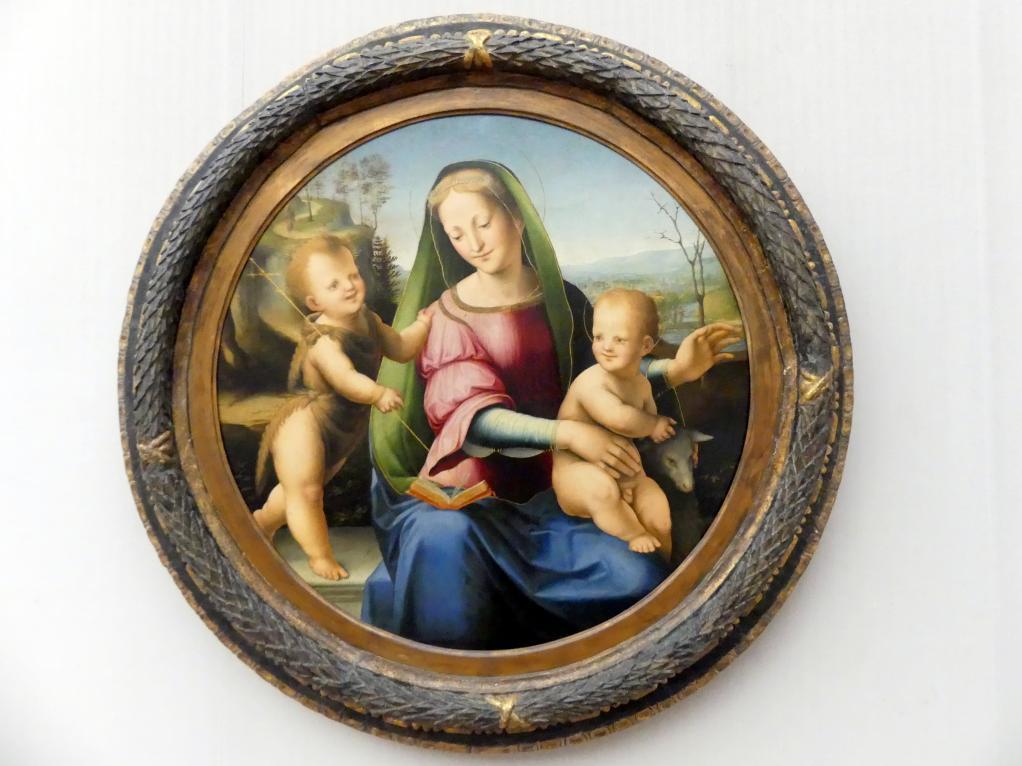 Domenico Beccafumi (il Mecherino): Maria mit dem Kind und dem Johannesknaben, um 1507