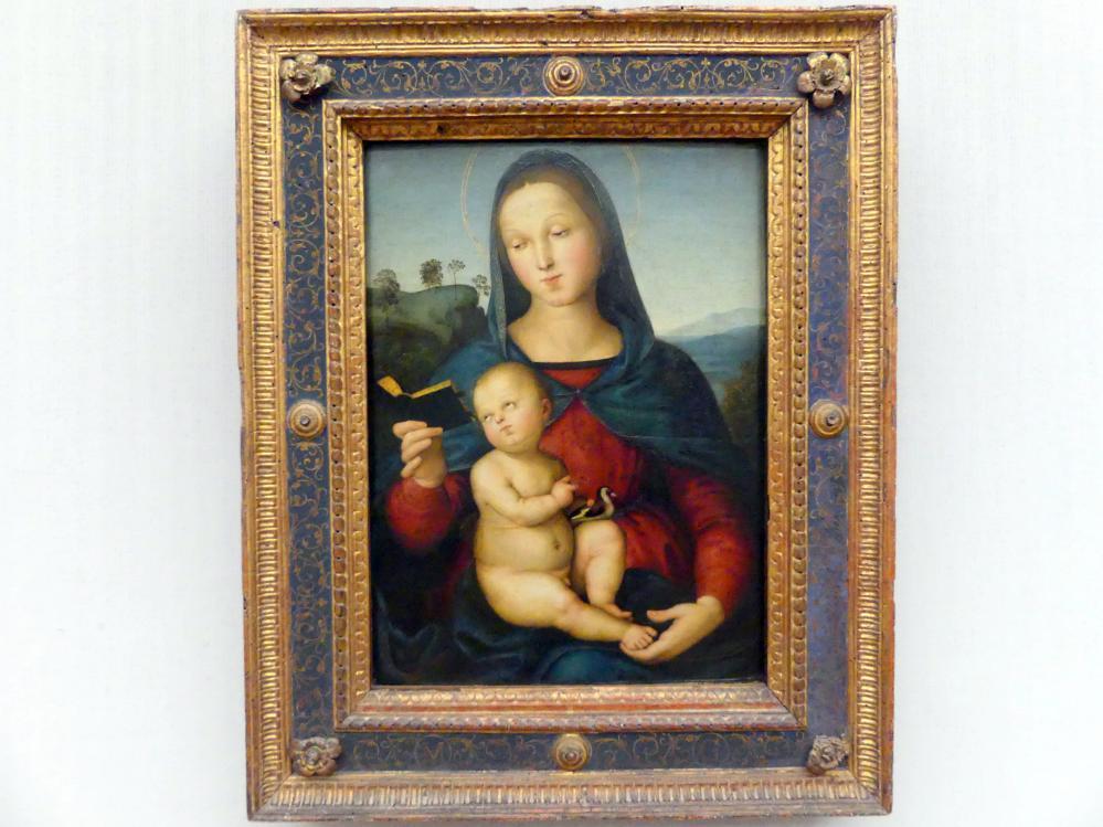 Raffaello Santi (Raffael): Maria mit dem Kind (Madonna Solly), um 1502