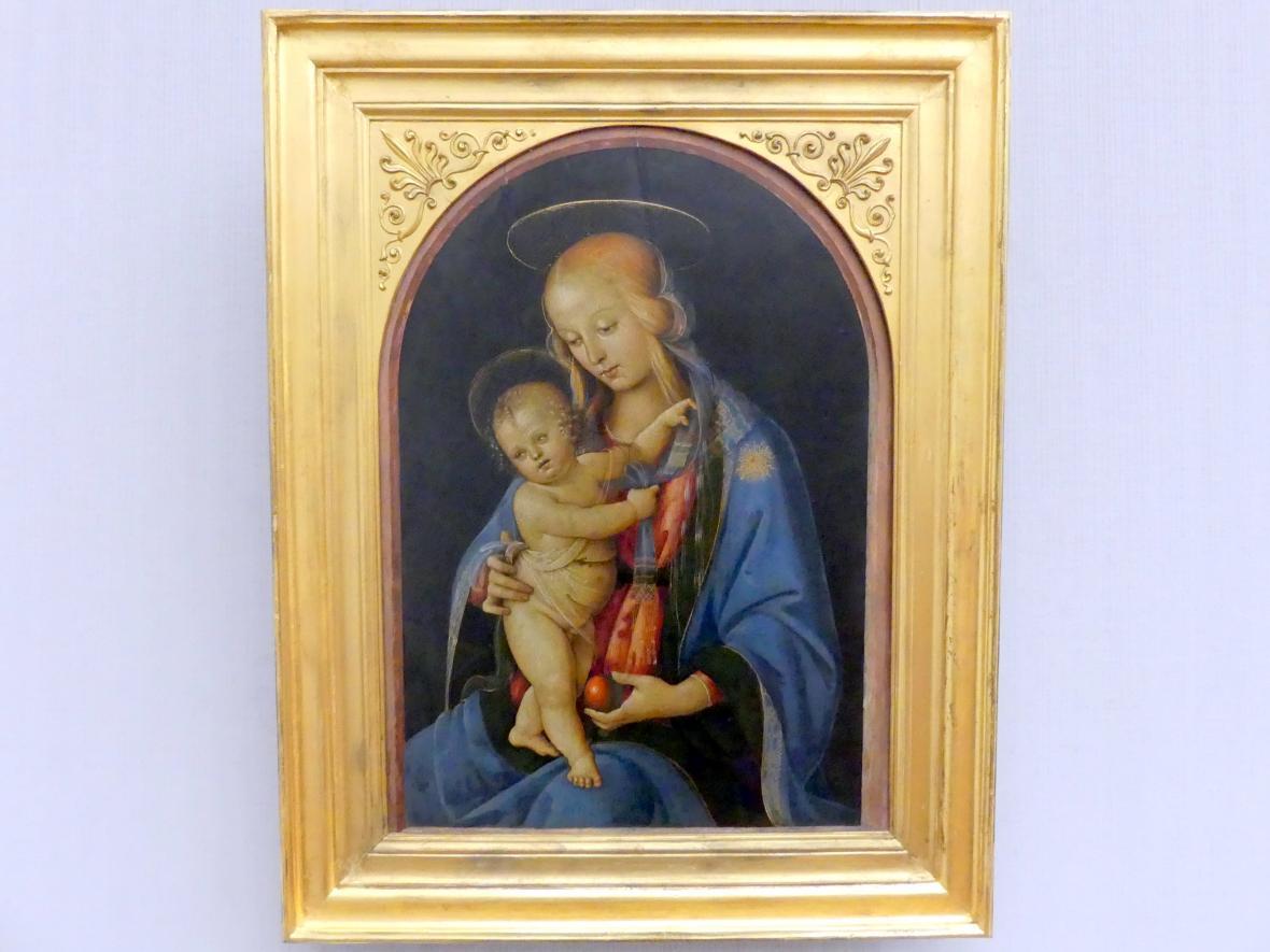 Andrea d'Assisi: Maria mit dem Kind, Undatiert
