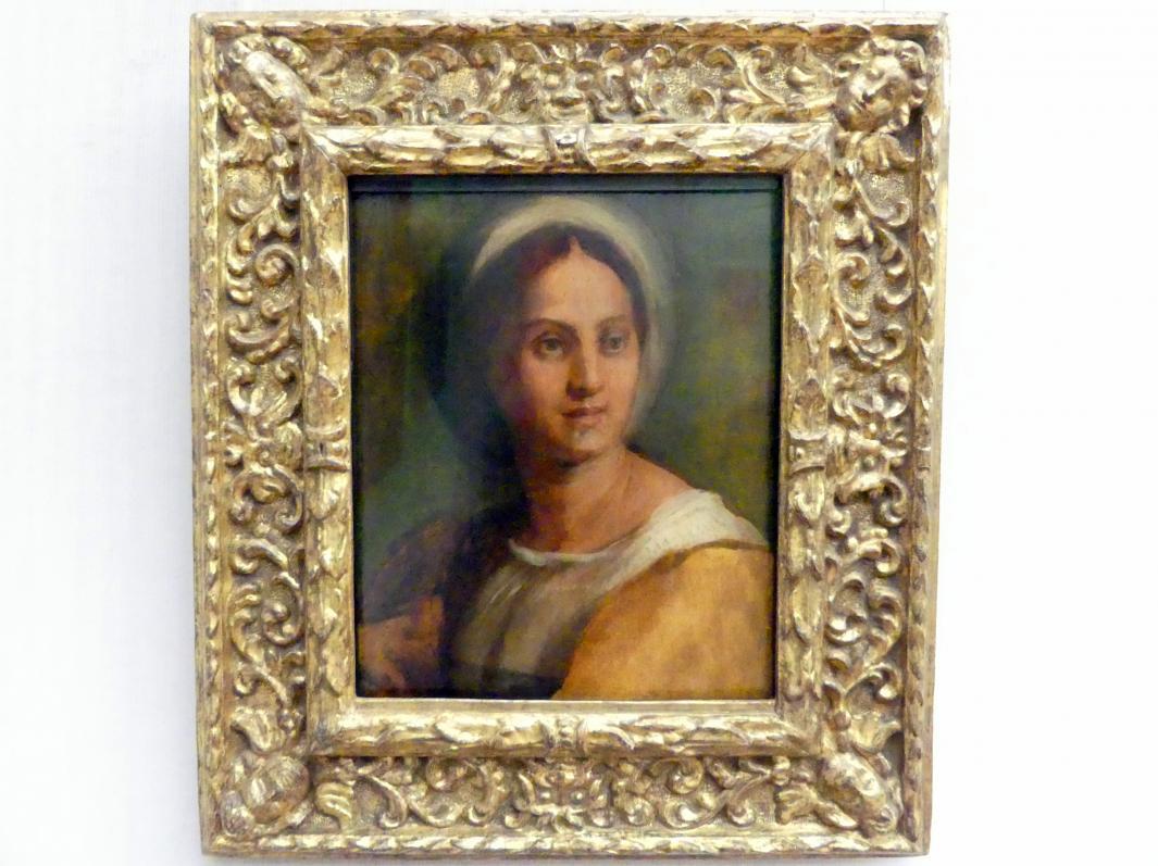 Andrea del Sarto: Bildnis einer jungen Frau (Lucrezia del Fede), Undatiert
