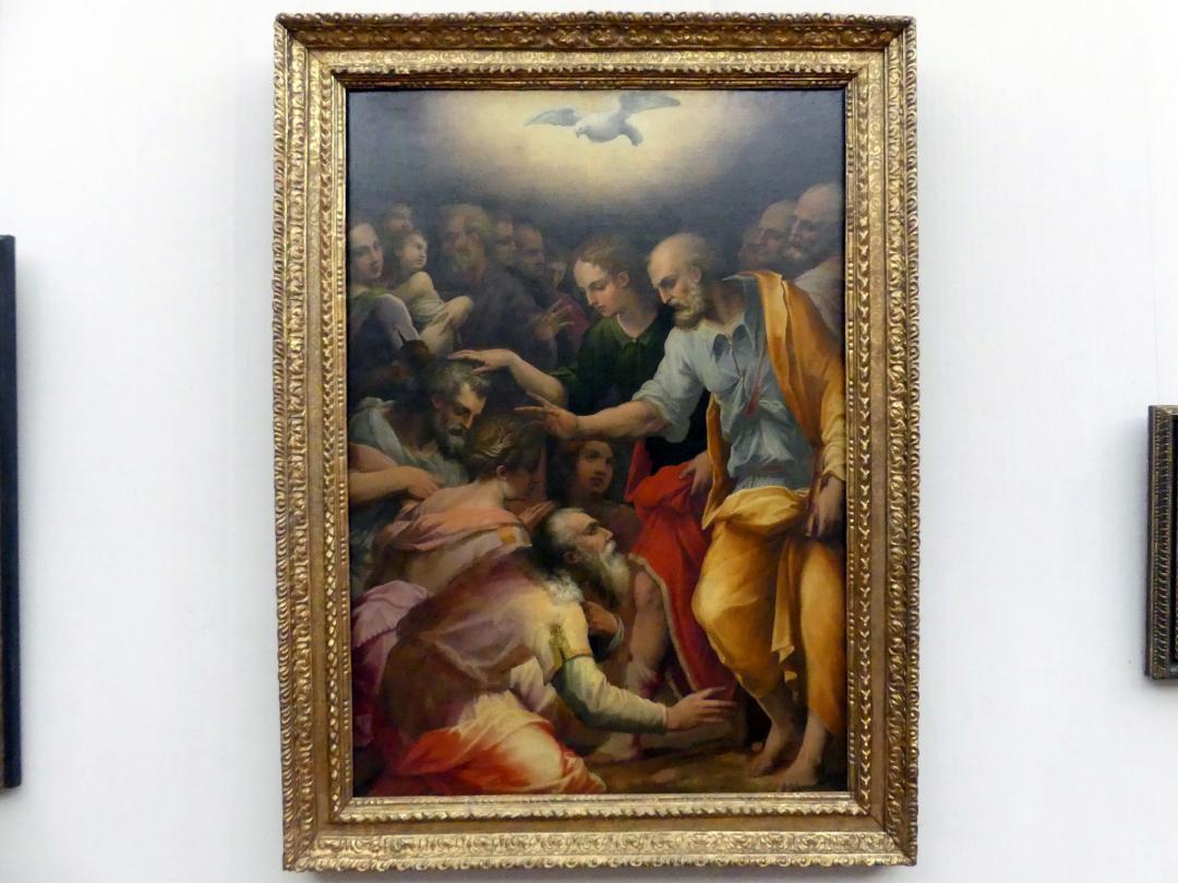 Giorgio Vasari: Die Apostel Petrus und Johannes segnend, 1557