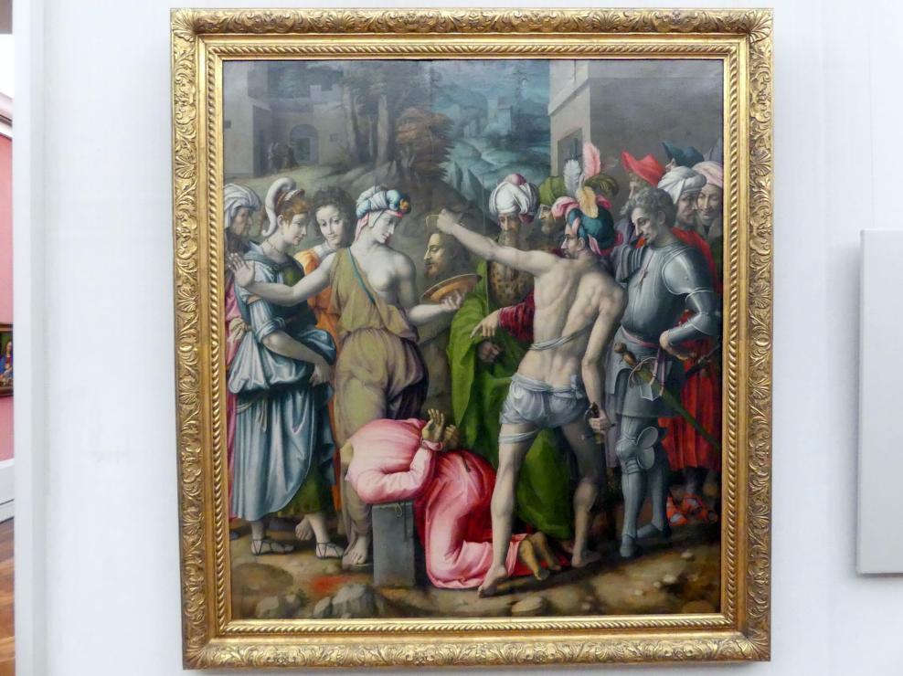 Francesco Ubertini (Bachiacca): Die Enthauptung Johannes des Täufers, Undatiert