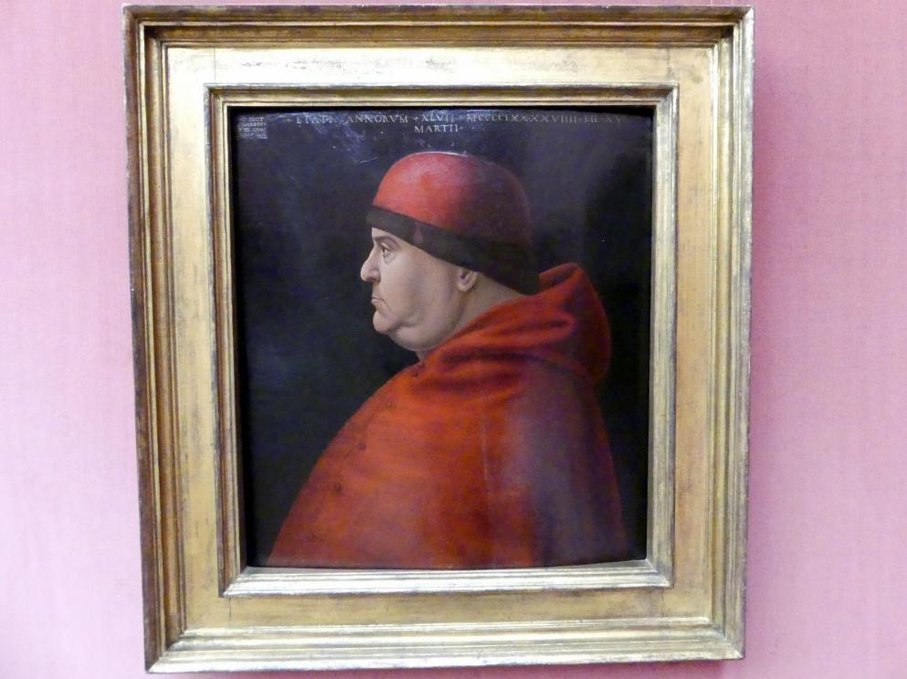 Bernardino de Conti: Bildnis eines Prälaten, 1499