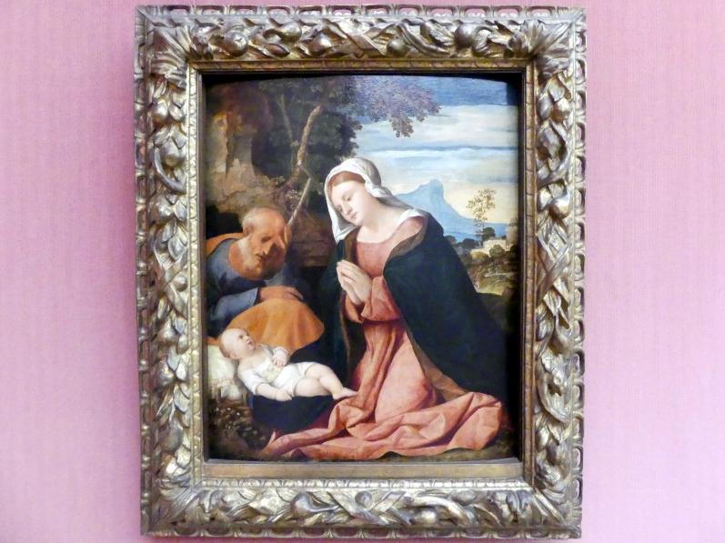 Jacopo Palma il Vecchio (Jacomo Nigretti de Lavalle): Die Heilige Familie, Um 1515