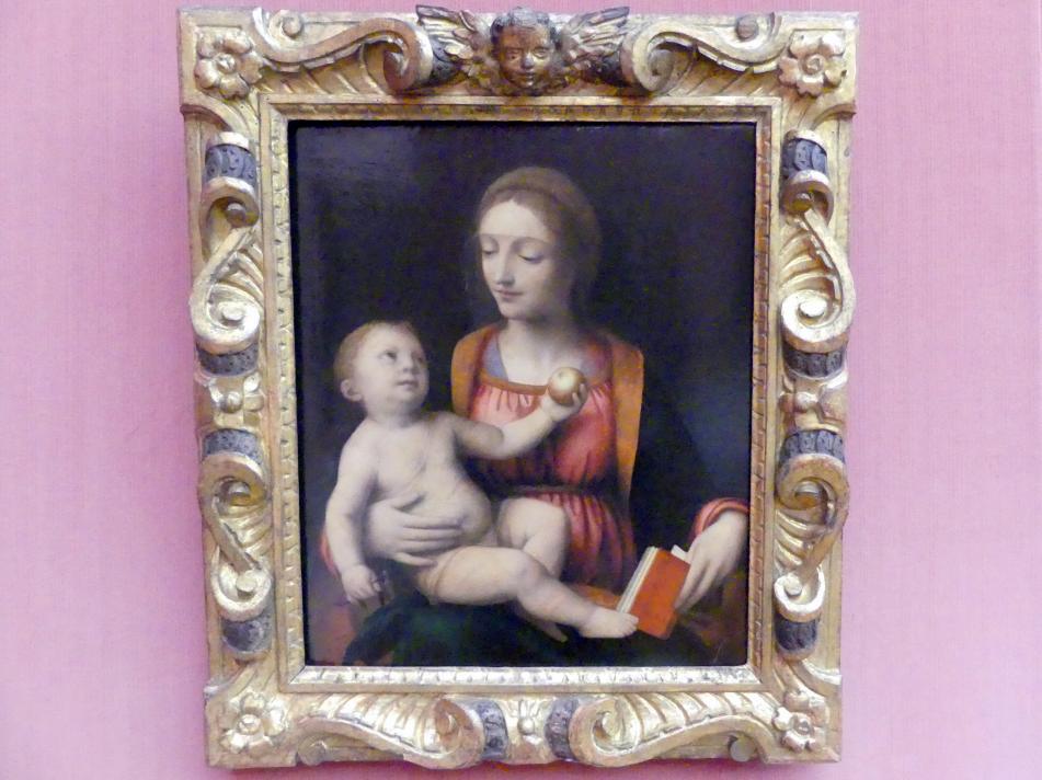 Bernardino Luini: Maria mit dem Kind und dem Apfel, Undatiert