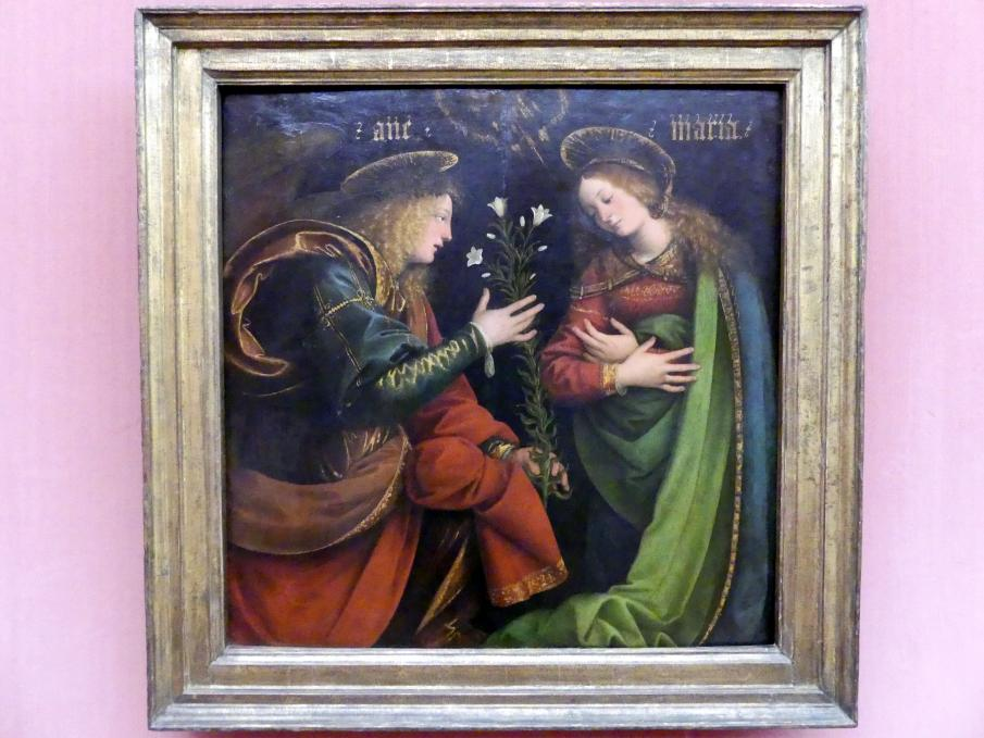 Gaudenzio Ferrari: Die Verkündigung an Maria, um 1512 - 1513