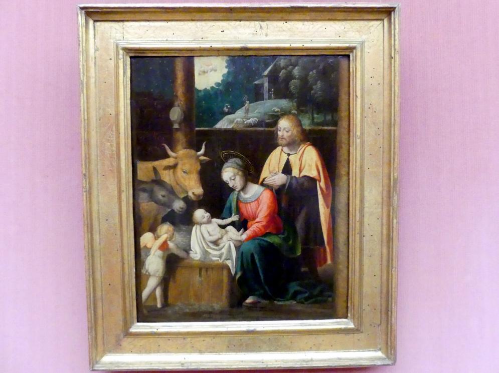 Bernardino Luini: Die Geburt Christi, Undatiert