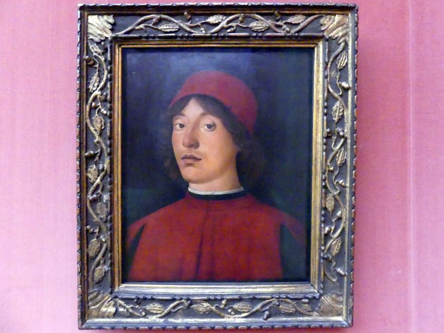 Lorenzo Costa: Bildnis eines jungen Mannes, Undatiert