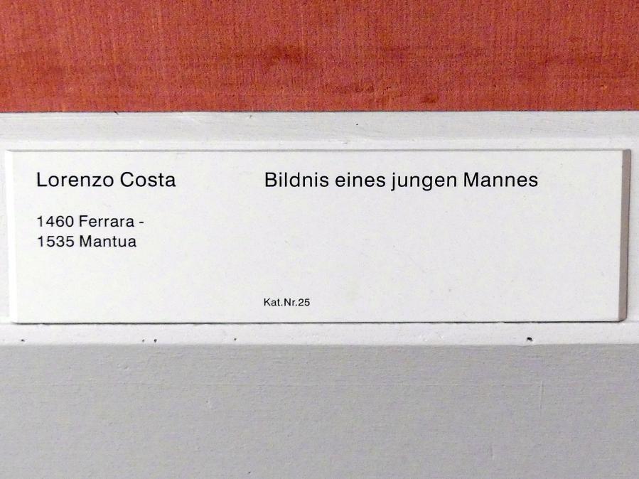 Lorenzo Costa: Bildnis eines jungen Mannes, Undatiert, Bild 2/2