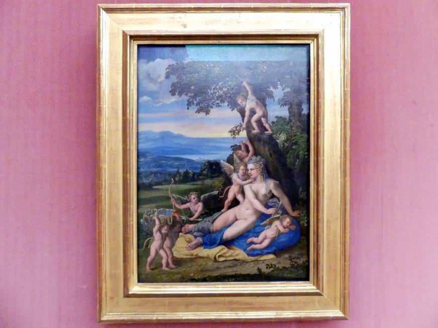 Battista Dossi (Battista de Luteri): Venus und Amoretten, Undatiert
