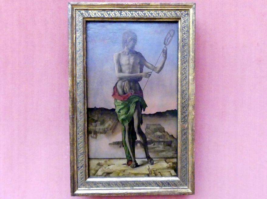 Ercole de' Roberti: Johannes der Täufer, um 1480