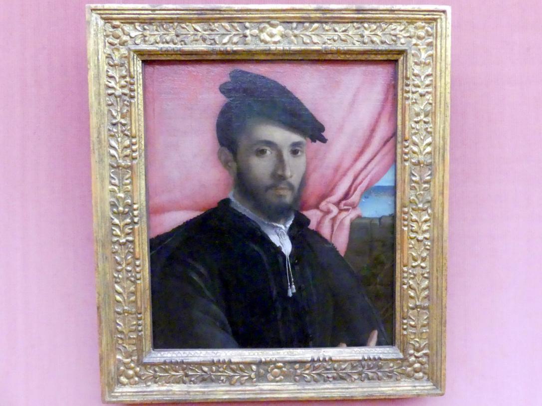 Lorenzo Lotto: Bildnis eines jungen Mannes, um 1526
