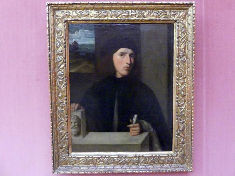 Giovanni Cariani (Giovanni Busi): Bildnis eines jungen Mannes, um 1514 - 1516