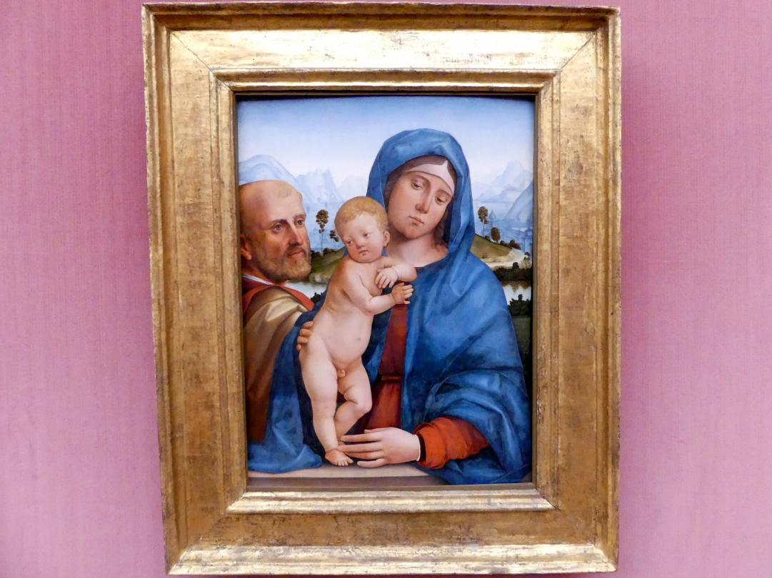 Francesco Francia (Raibolini): Die Heilige Familie, um 1485 - 1490