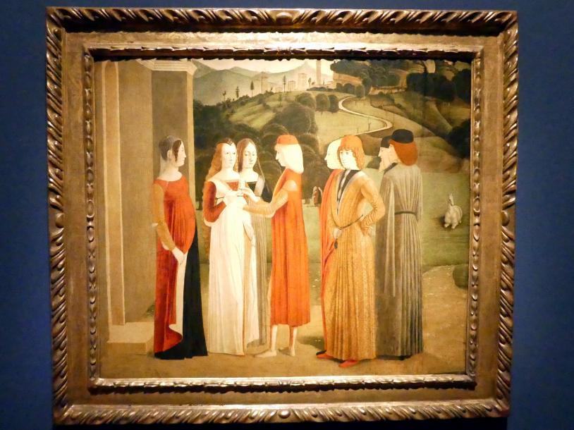 Michele da Verona: Eine Verlobung, um 1495 - 1500
