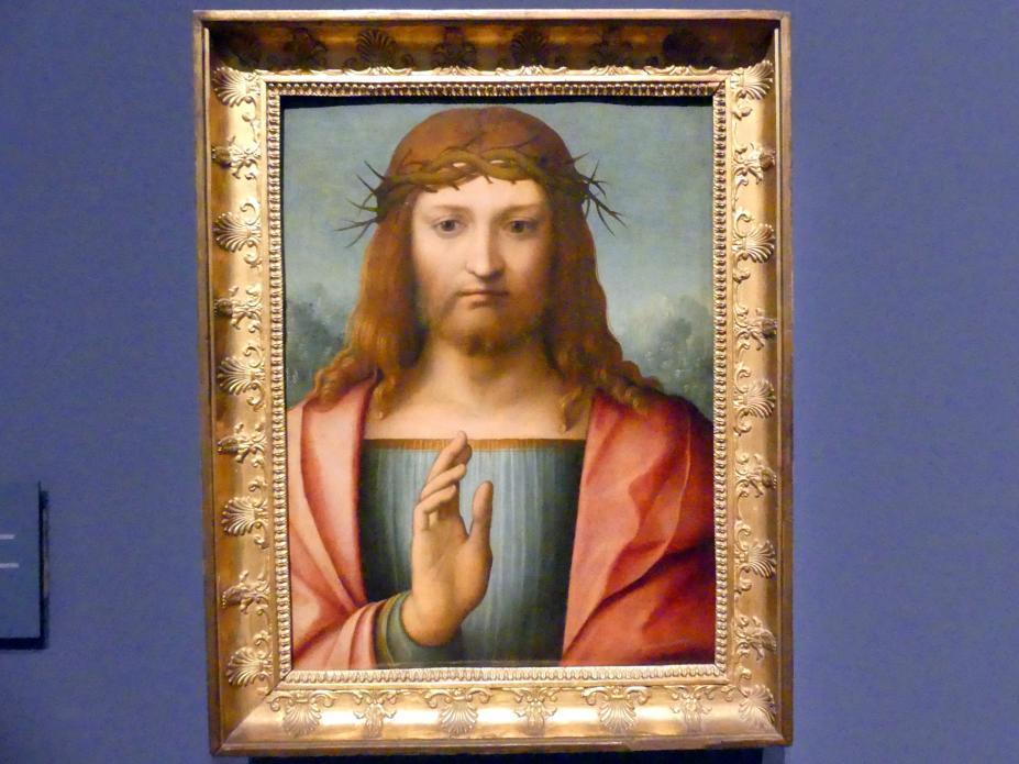 Der segnende Christus mit der Dornenkrone, um 1500