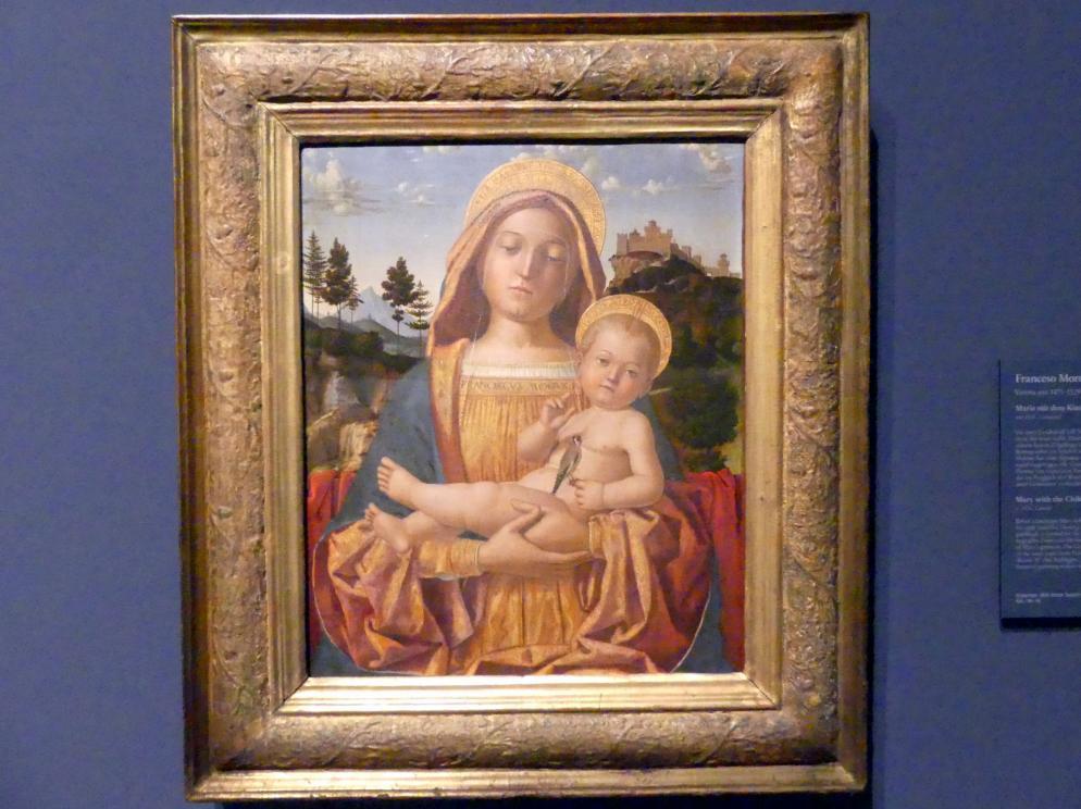 Francesco Morone: Maria mit dem Kind, um 1526