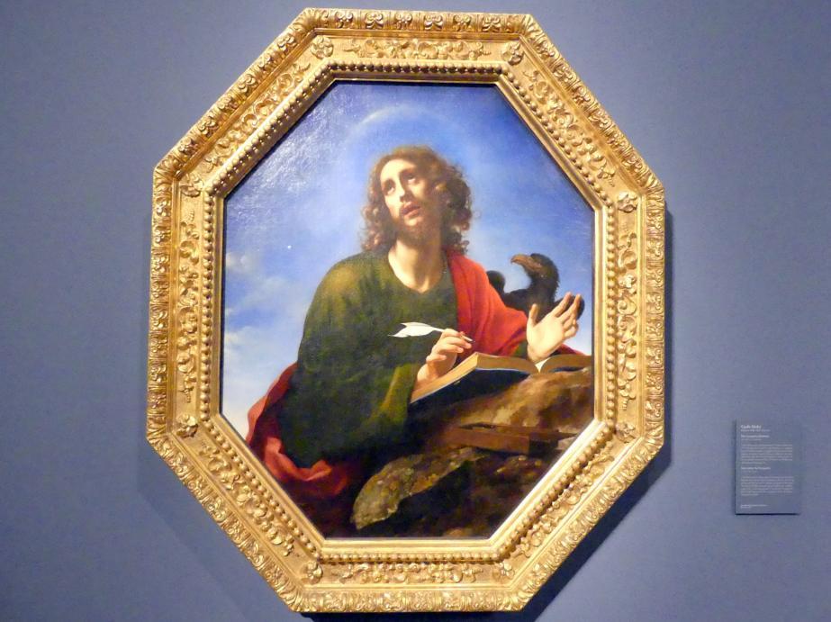 Carlo Dolci: Der Evangelist Johannes, um 1640 - 1650