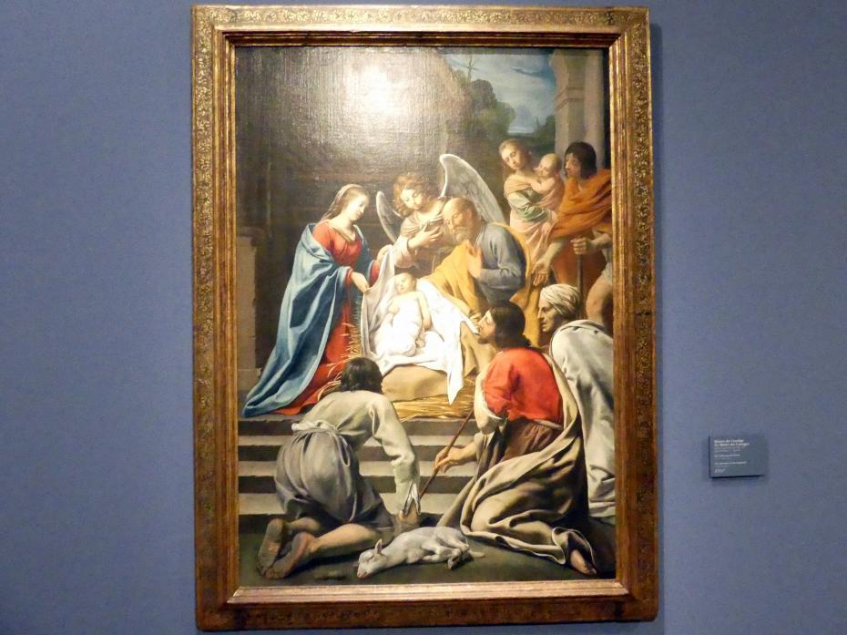 Meister der Umzüge (Maître des Cortèges): Die Anbetung der Hirten, um 1630 - 1640