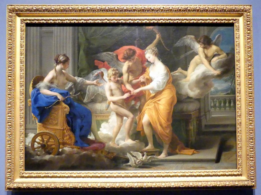 Pompeo Girolamo Batoni: Die Vermählung Amors mit Psyche, 1756