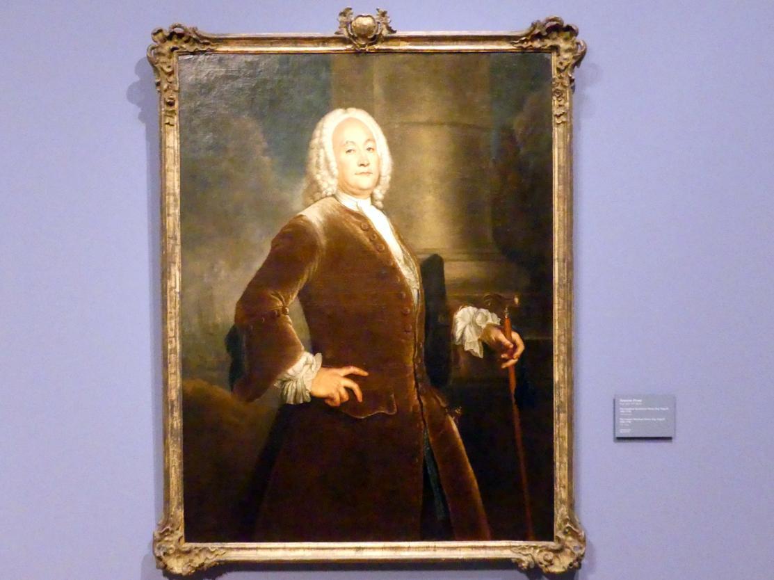 Antoine Pesne: Der Londoner Kaufmann Henry Esq. Voguell (1681-1746), 1746