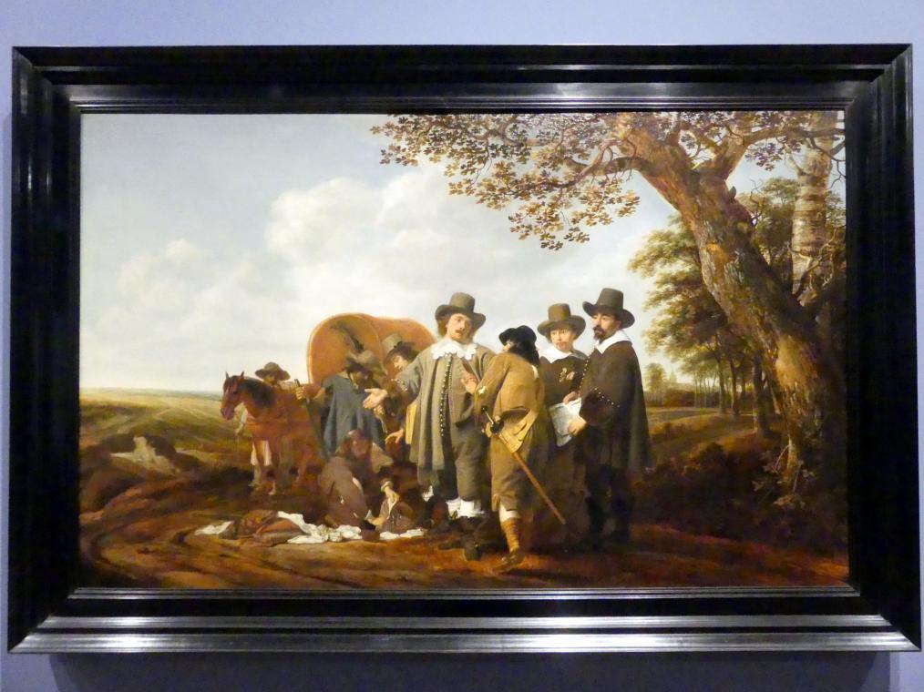 Simon Kick: Der Überfall, 1640 - 1650