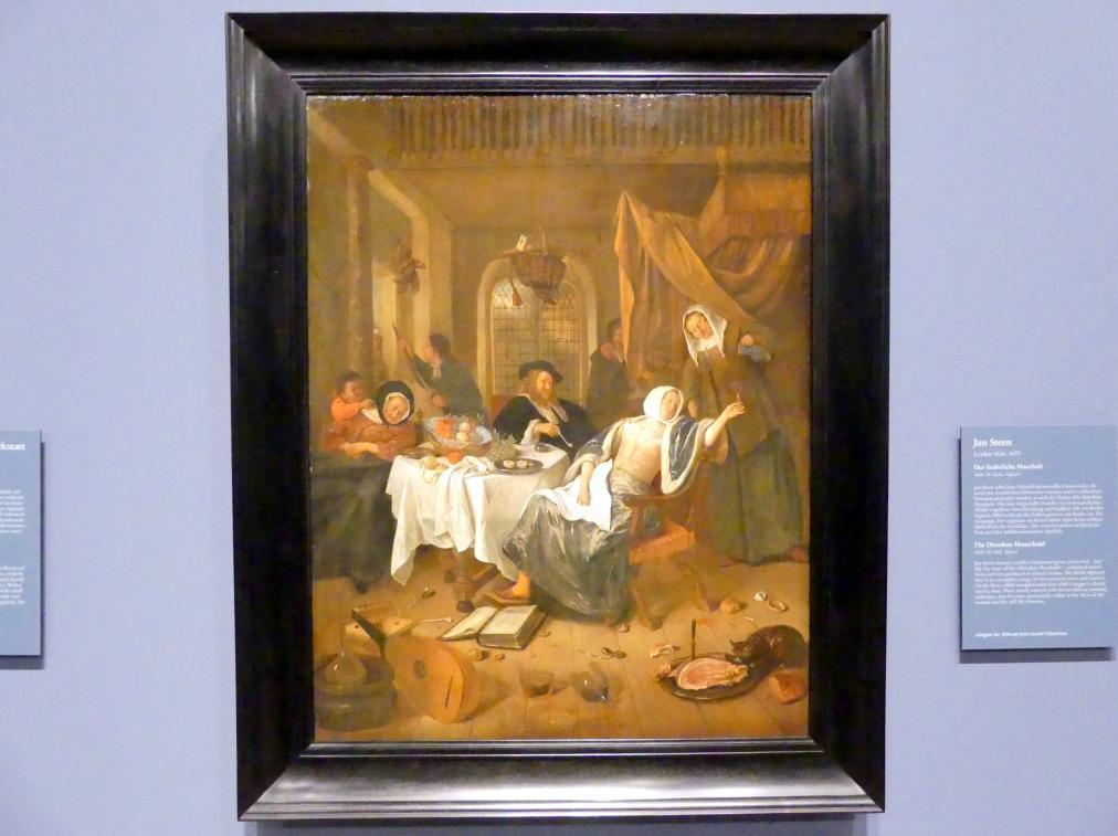 Jan Havickszoon Steen: Der liederliche Haushalt, 1660 - 1670