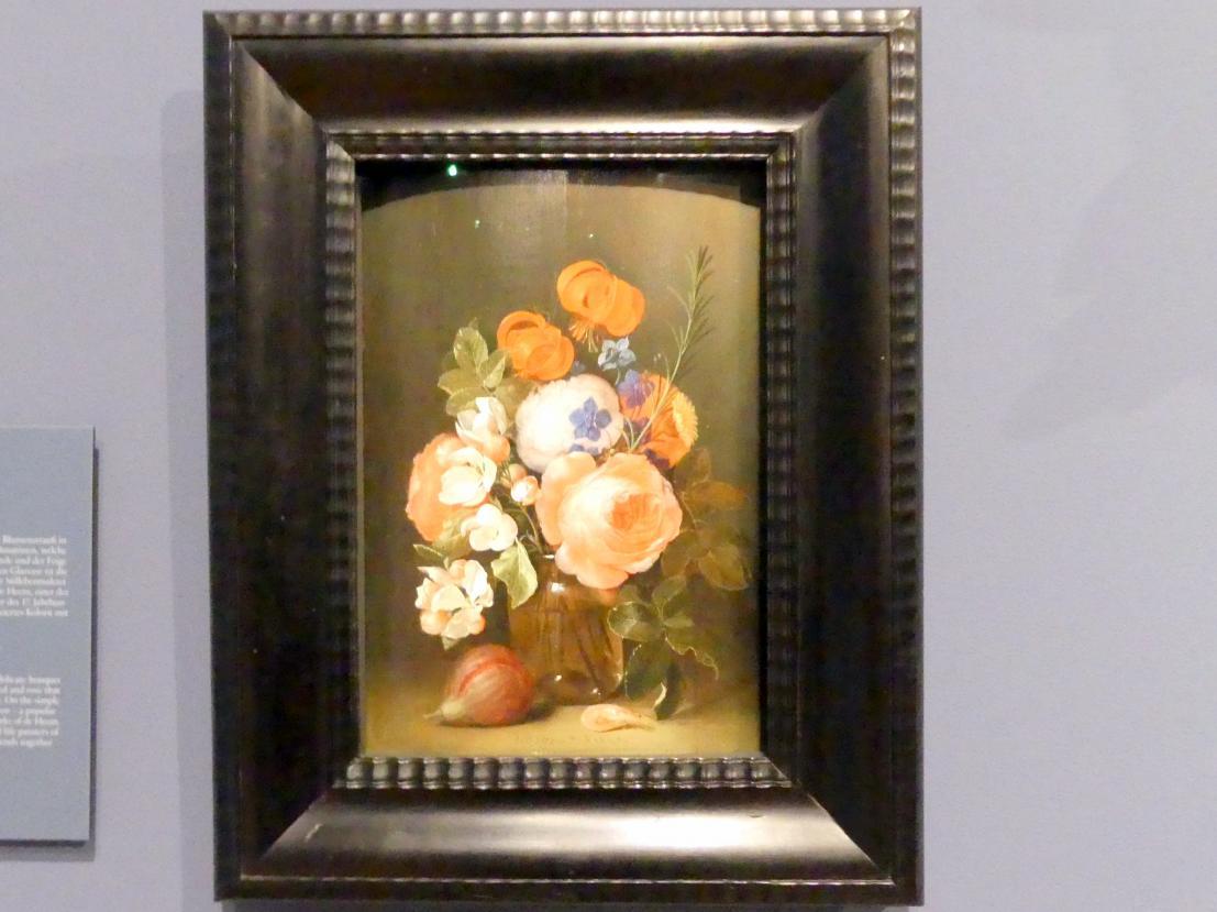 Jan Davidsz. de Heem: Stillleben mit Vase und Blumen, 1645