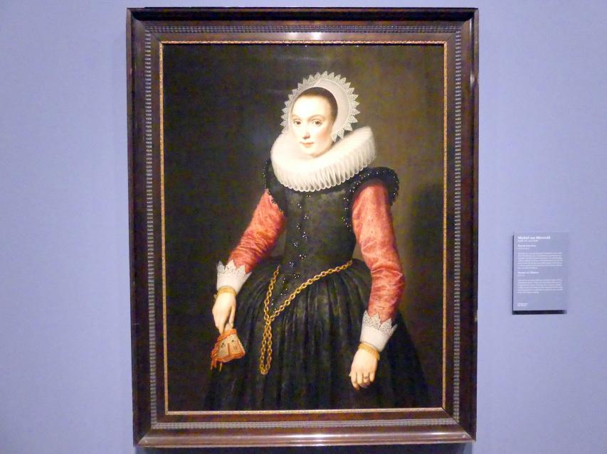 Michiel van Mierevelt: Portrait einer Frau, 1619