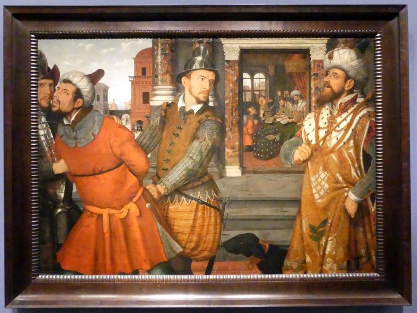 Das Gleichnis vom Schalksknecht, um 1600