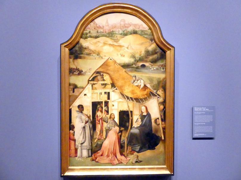 Hieronymus Bosch (Kopie): Die Anbetung der Könige, um 1550