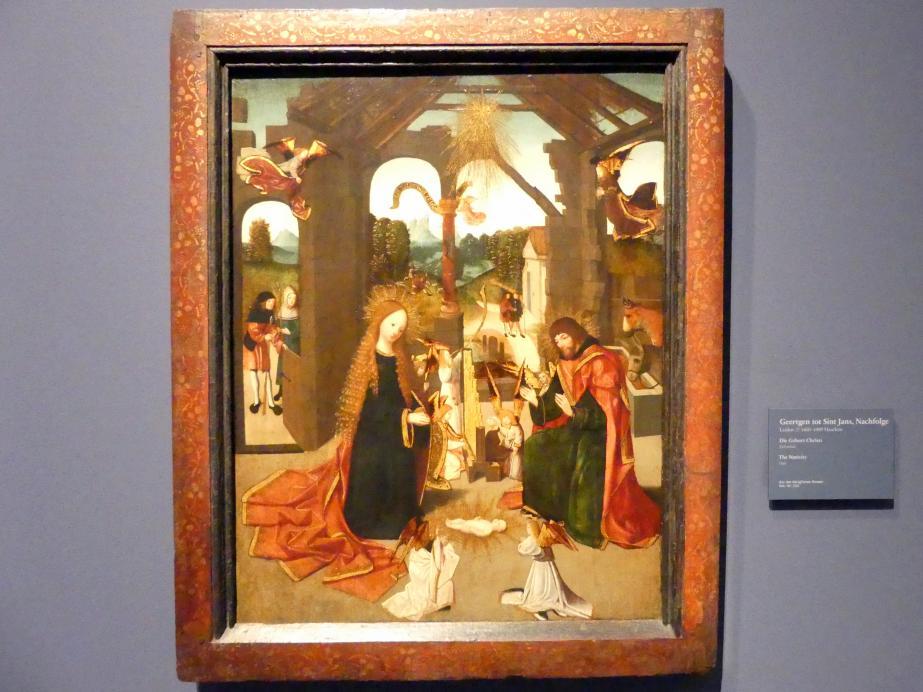 Geertgen tot Sint Jans (Nachfolge): Die Geburt Christi, Undatiert