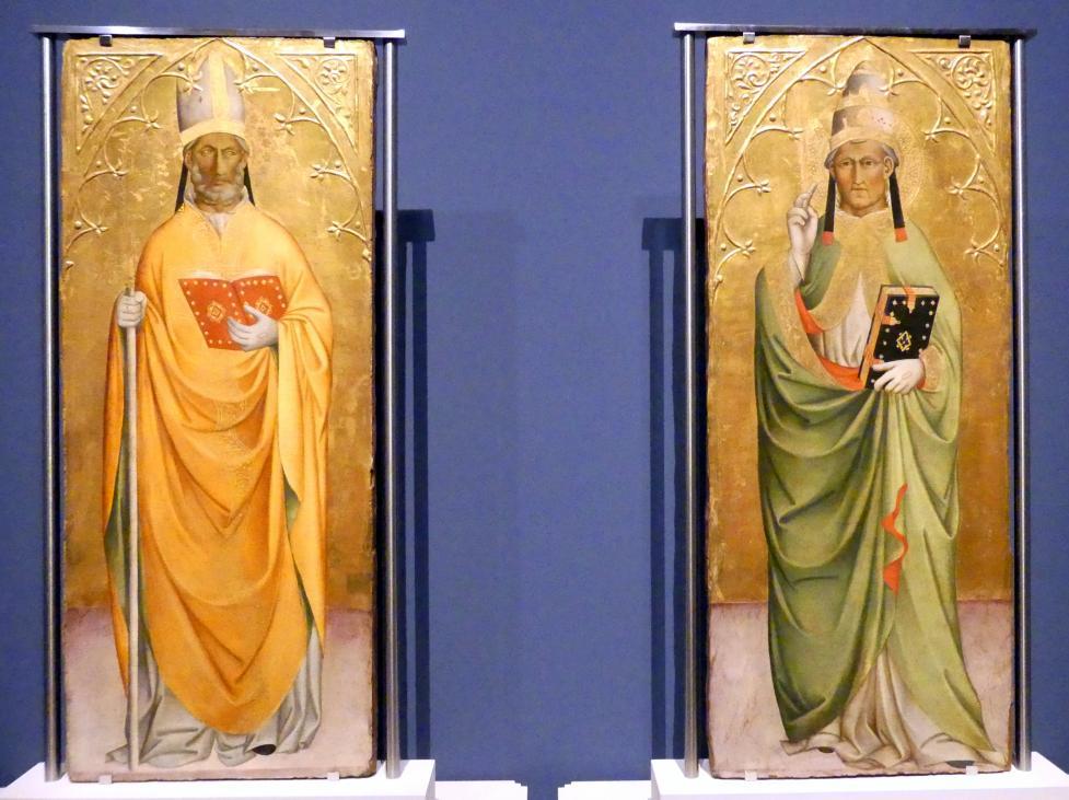 Cennino Cennini: Heiliger Bischof, heiliger Papst, um 1385