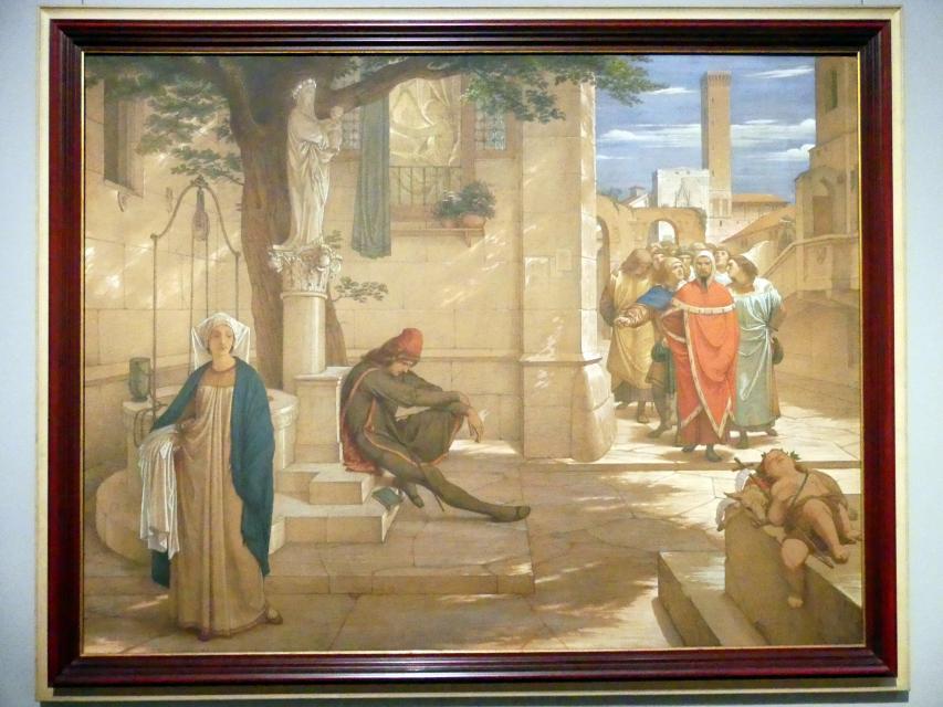 Edward von Steinle: Die Romanzen vom Rosenkranz, 1854