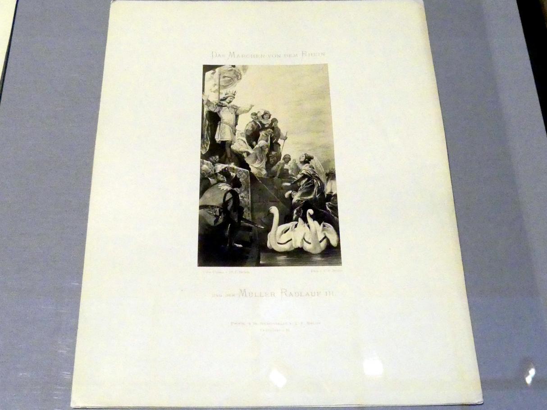 Carl Friedrich Mylius: Ameleyas Rückkehr nach Mainz, 1870