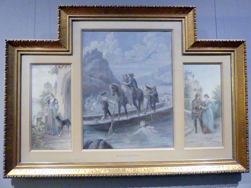 Leopold Bode: Liebesglück oder wer das Glück hat, führt die Braut heim, 1894