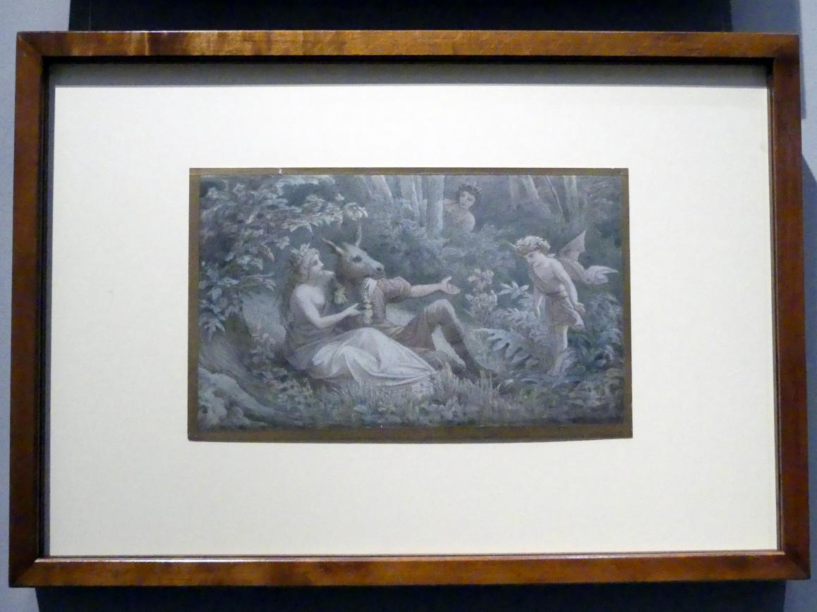 Leopold Bode: Ein Sommernachtstraum, 4.Aufzug, 1.Szene, 1883
