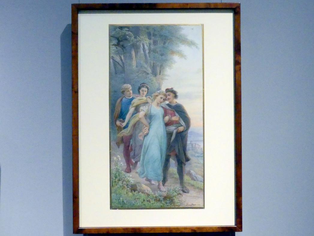 Leopold Bode: Ein Sommernachtstraum, 4. Aufzug, 1. Szene, 1883