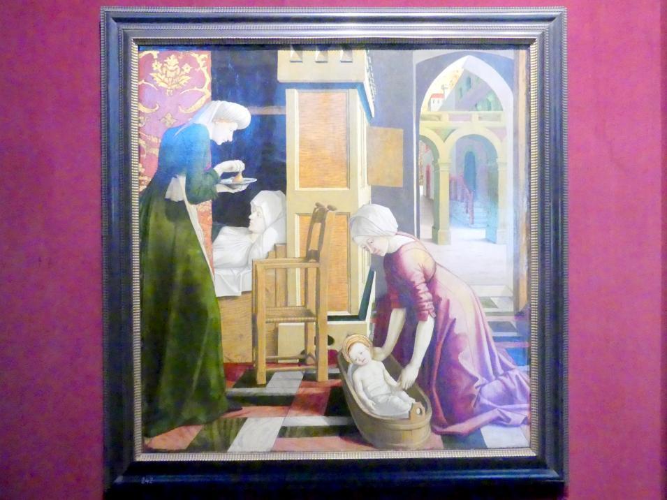 Michael Pacher: Mariä Geburt, um 1465