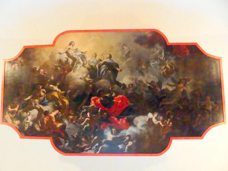 Francesco Solimena: Phaethon bittet darum, den Sonnenwagen lenken zu dürfen, um 1713 - 1719